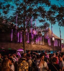 Züri Fäscht 2019 XOXO LED