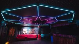 Spacemonki LED Installation